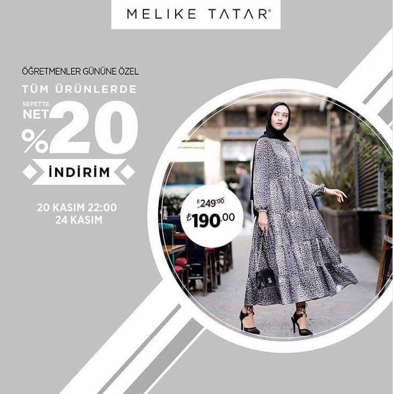Melike Tatar Öğretmenler Günü İndirim Fırsatı!
