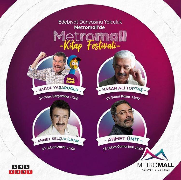 Metromall Kitap Festivali!