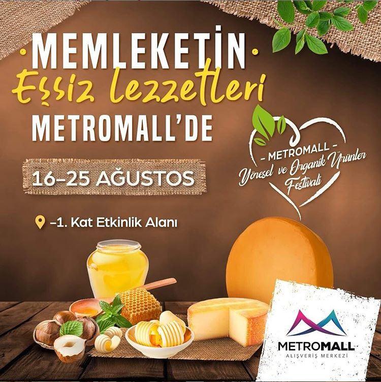 Metromall Yöresel ve Organik Ürünler Festivali!