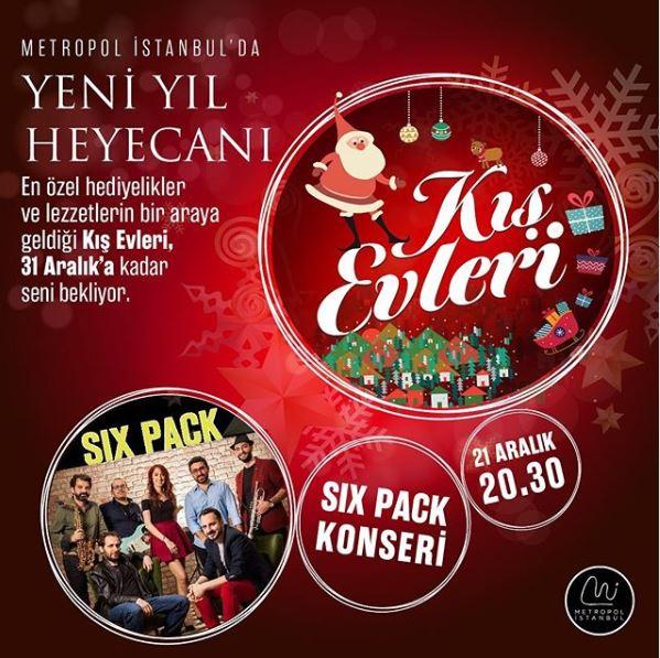 Metropol İstanbul Kış Evleri ile Yeni Yıl Fırsatları!