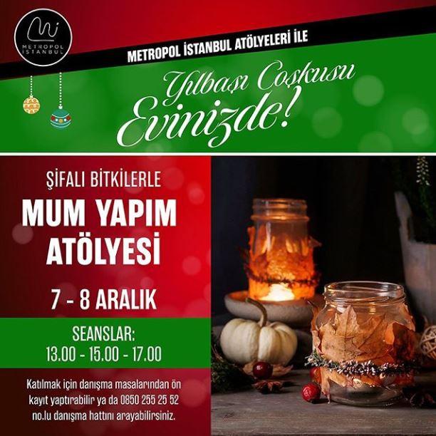 Metropol İstanbul Mum Yapım Atölyesi!