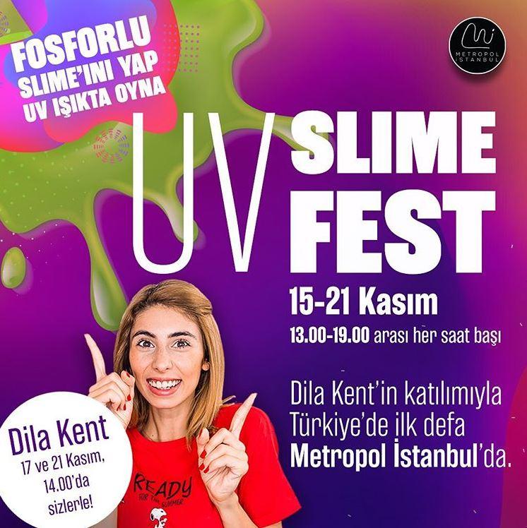 Metropol İstanbul UV Slime Fest!