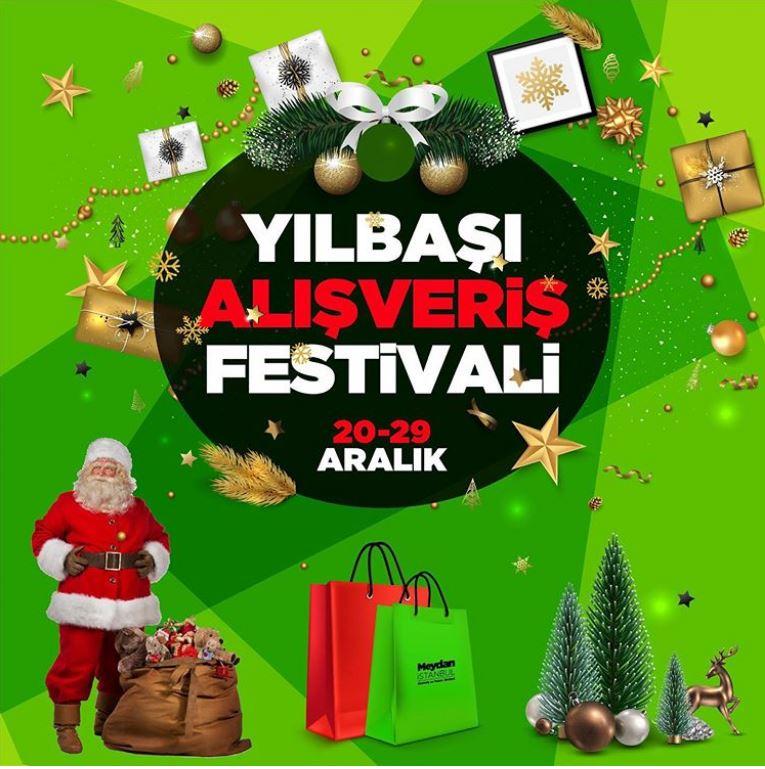Meydan İstanbul Yılbaşı Alışveriş Festivali!