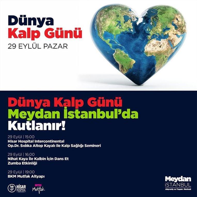 Dünya Kalp Günü Meydan İstanbul'da Kutlanır!