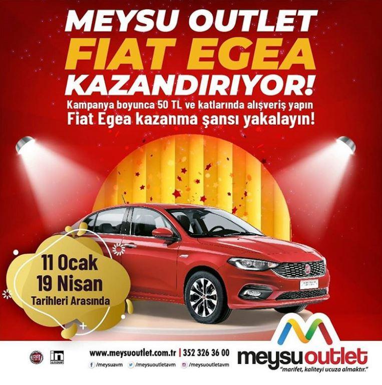 Meysu Outlet Fiat Egea Çekiliş Kampanyası!