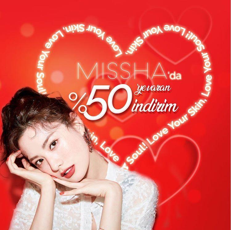 Missha'da Sevgililer Günü Kampanyası!