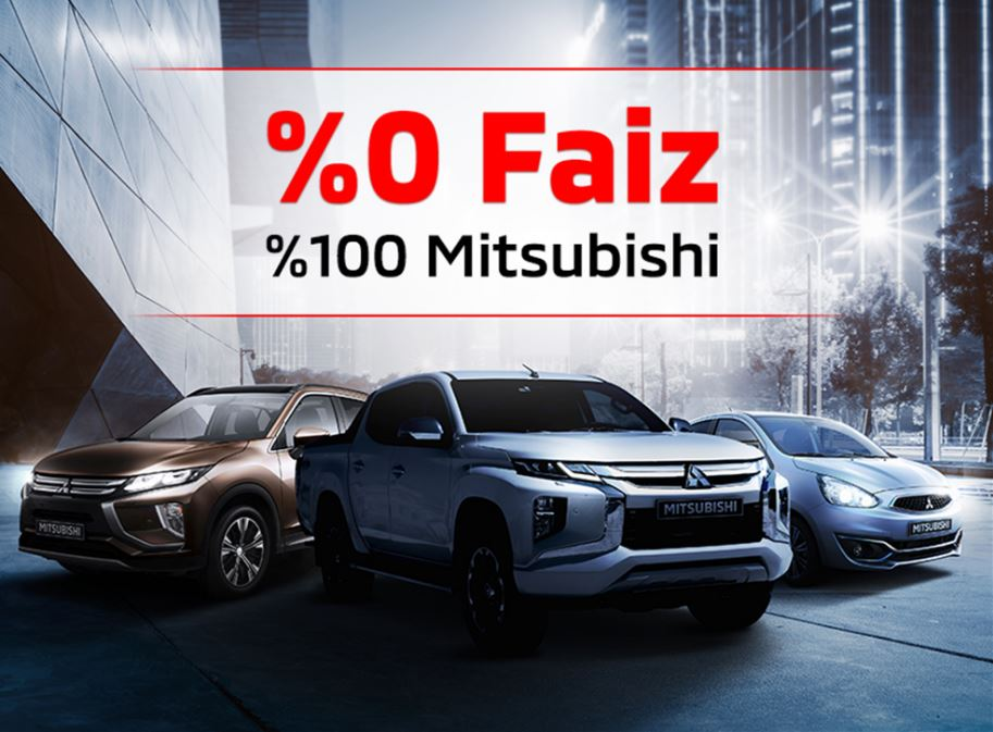 %0 Faiz %100 Mitsubishi!