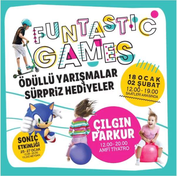Mall Of İstabbul Funtastic Games Etkinliği!