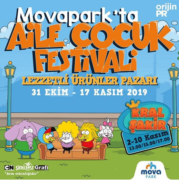 Movapark Aile Çocuk Festivali!