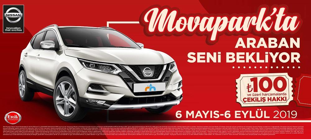 Movapark Nissan Qashqai Çekiliş Kampanyası!