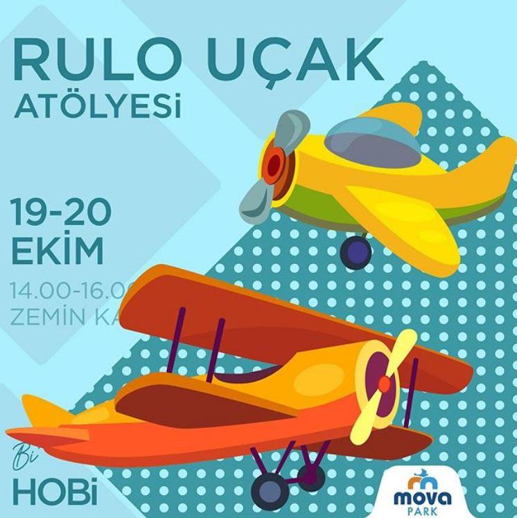 Movapark AVM Rulo Uçak Atölyesi!
