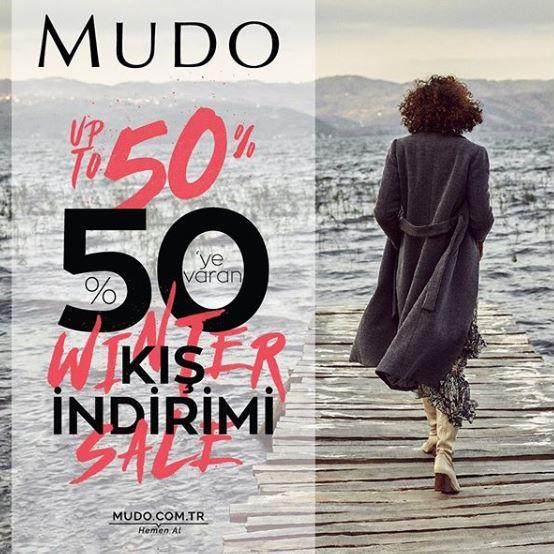 Mudo'da kış indirimi başladı!