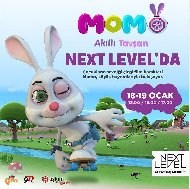 Next Level Akıllı Tavşan Momo Etkinliği!