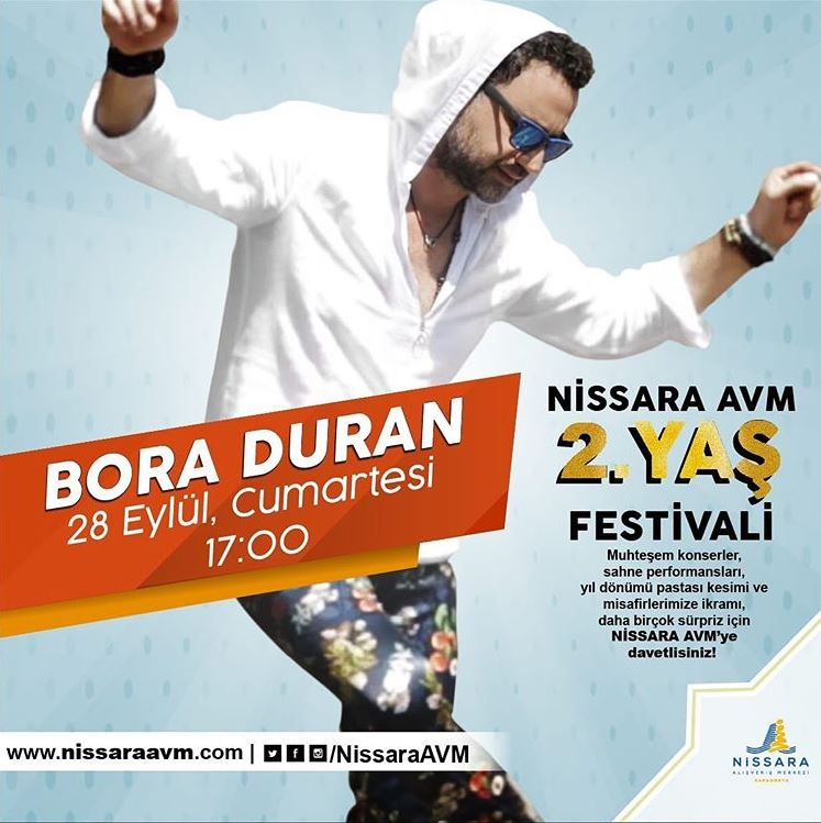 Nissara AVM Bora Duran Konseri!