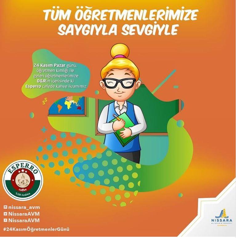 Nissara AVM Öğretmenler Günü Kampanyası!
