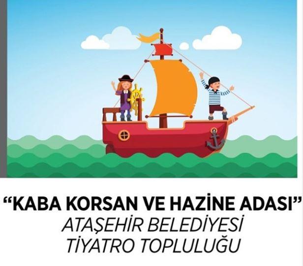 Novada Atasehir Kaba Korsan ve Hazine Adası Tiyatrosu!