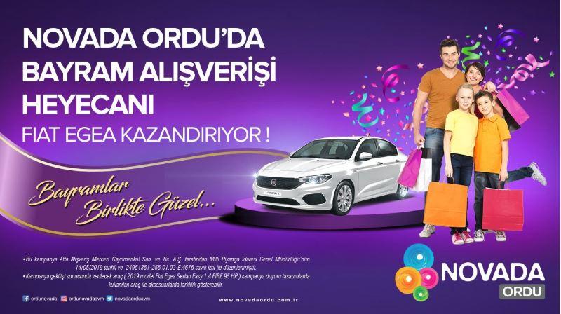 Novada Ordu'da Bayram Alışverişi Fiat Egea Kazandırıyor!