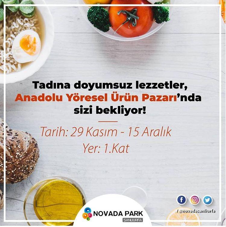 Novada Park Anadolu Yöresel Ürün Pazarı!