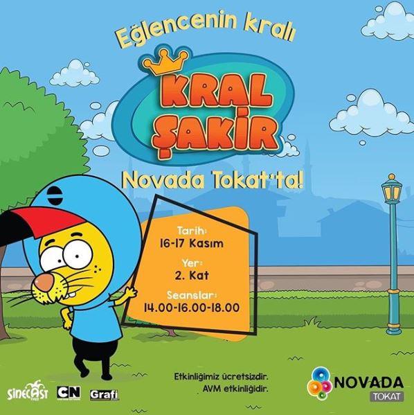 Novada Tokat Kral Şakir Müzikali!