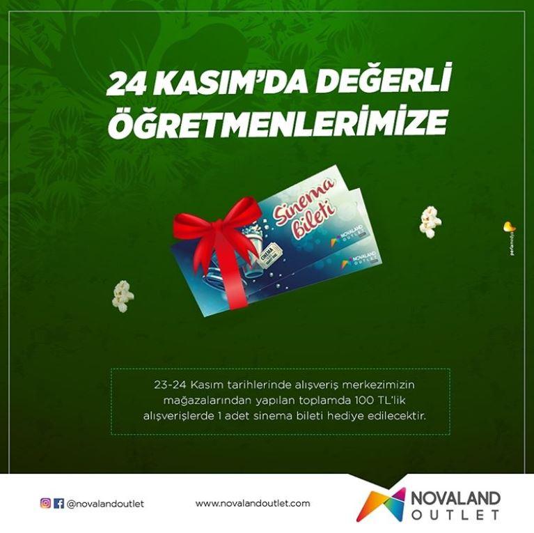 Novaland Outlet Öğretmenler Günü Kampanyası!
