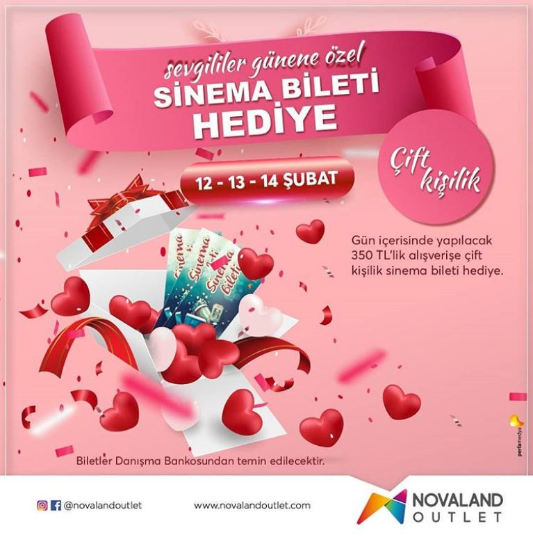 Novaland Outlet Sevgililer Günü Kampanyası!
