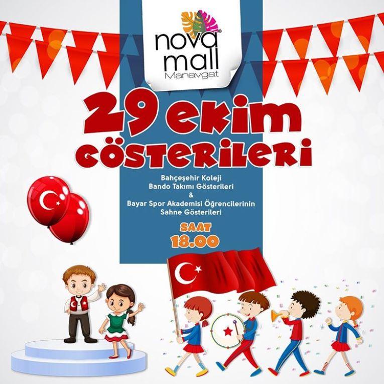 Novamall 29 Ekim Cumhuriyet Bayramı Gösterileri!