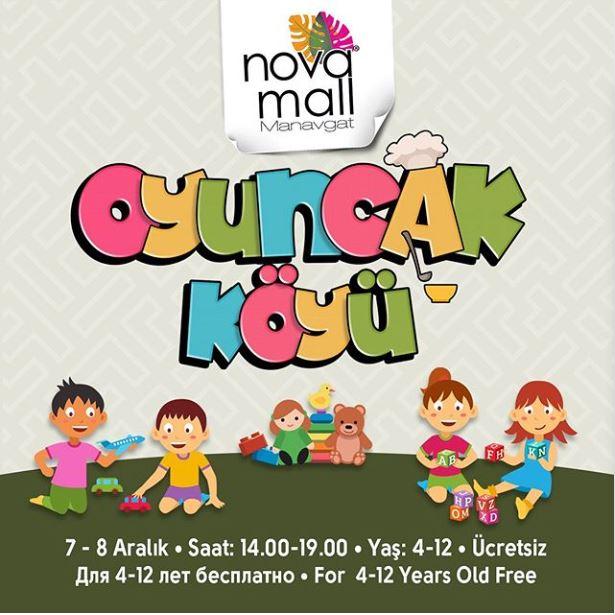 Novamall Manavgat Oyuncak Köyü!