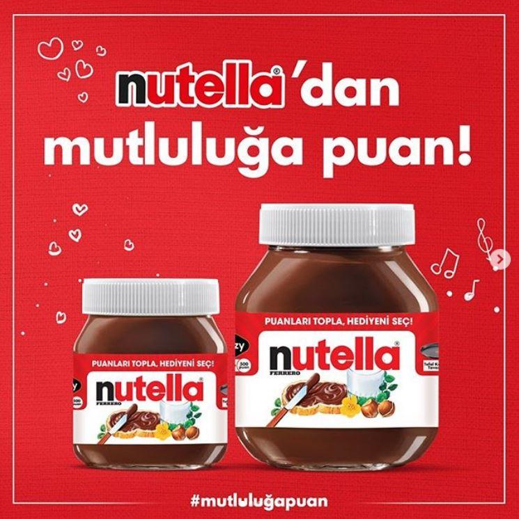 Nutella'dan Mutluluğa Puan Kampanyası!