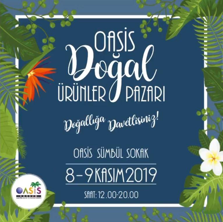 Oasis Bodrum AVM Doğal Ürünler Pazarı!