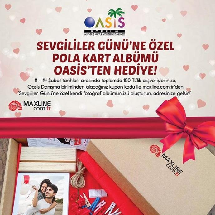 Sevgililer Günü'ne Özel Pola Kart Albümü Oasis'ten Hediye!