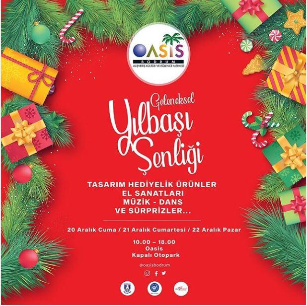 Oasis Geleneksel Yılbaşı Şenliği Başlıyor!