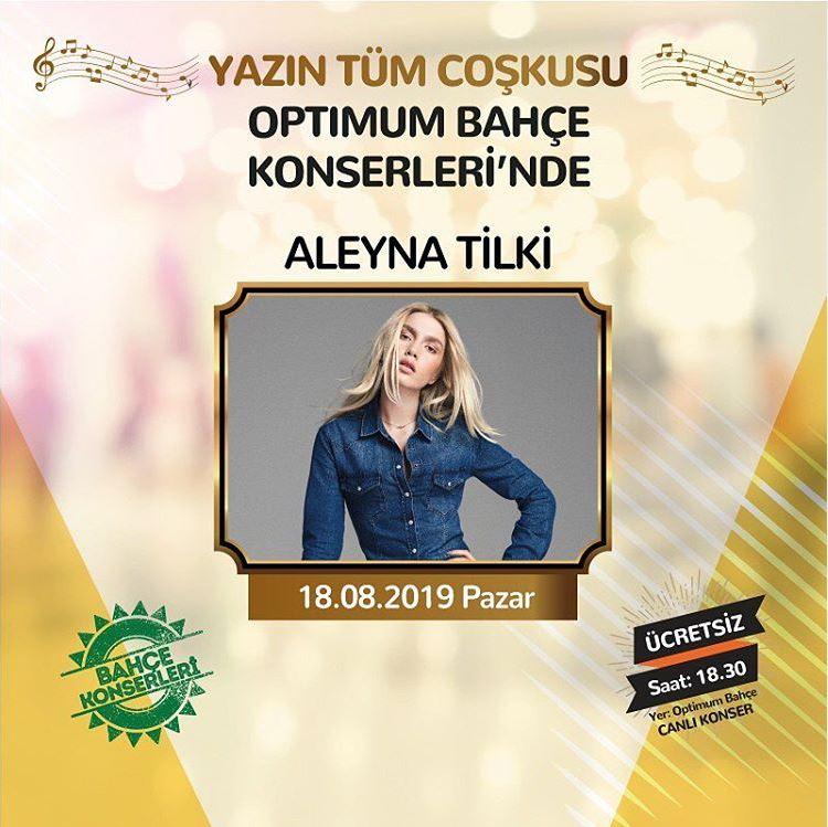 İzmir Optimum Aleyna Tilki Konseri!