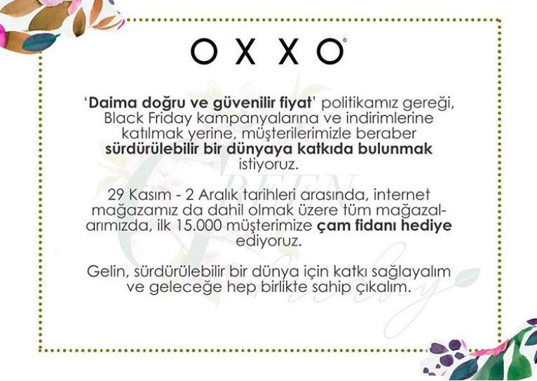 Oxxo'dan Çam Fidanı Hediye Kampanyası!