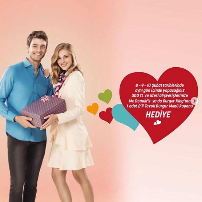 Sevgililer Günü haftasında sevgililere hediyeleri ÖzdilekPark Antalya'dan!