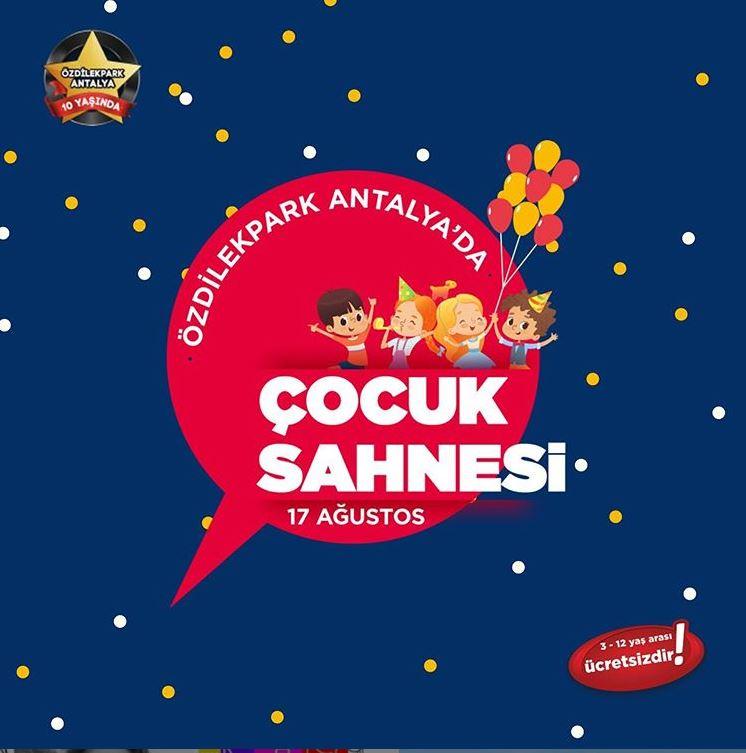 ÖzdilekPark Antalya'da eğlence sırası çocukların!