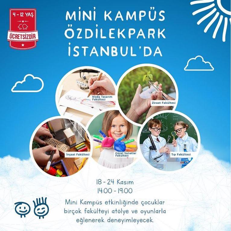Mini Kampüs, ÖzdilekPark İstanbul'da