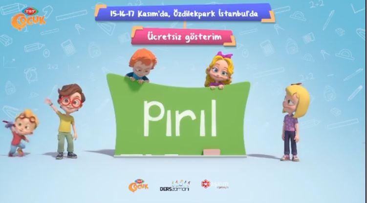 Pırıl ve arkadaşları ÖzdilekPark İstanbul'da!