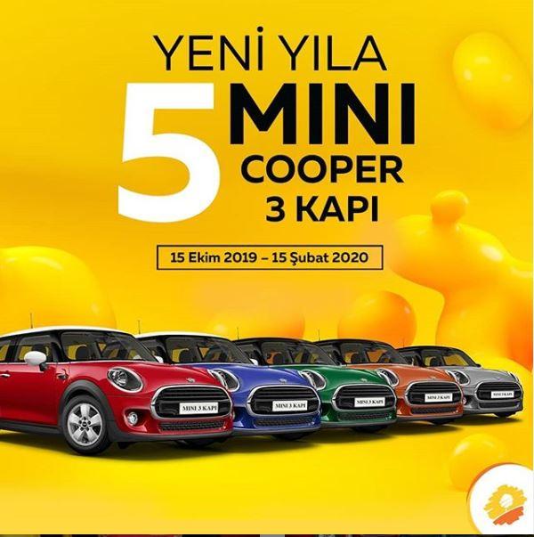 Panora AVM Mini Cooper Çekiliş Kampanyası!