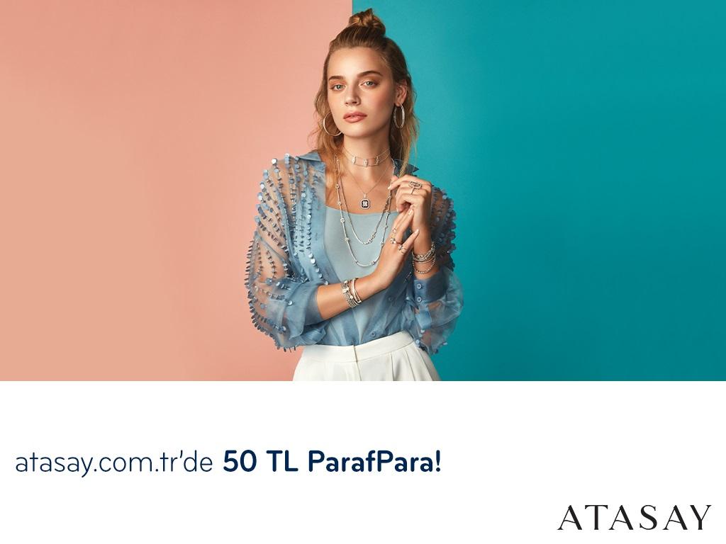 Paraf ile atasay.com.tr'de 50 TL ParafPara Fırsatı!