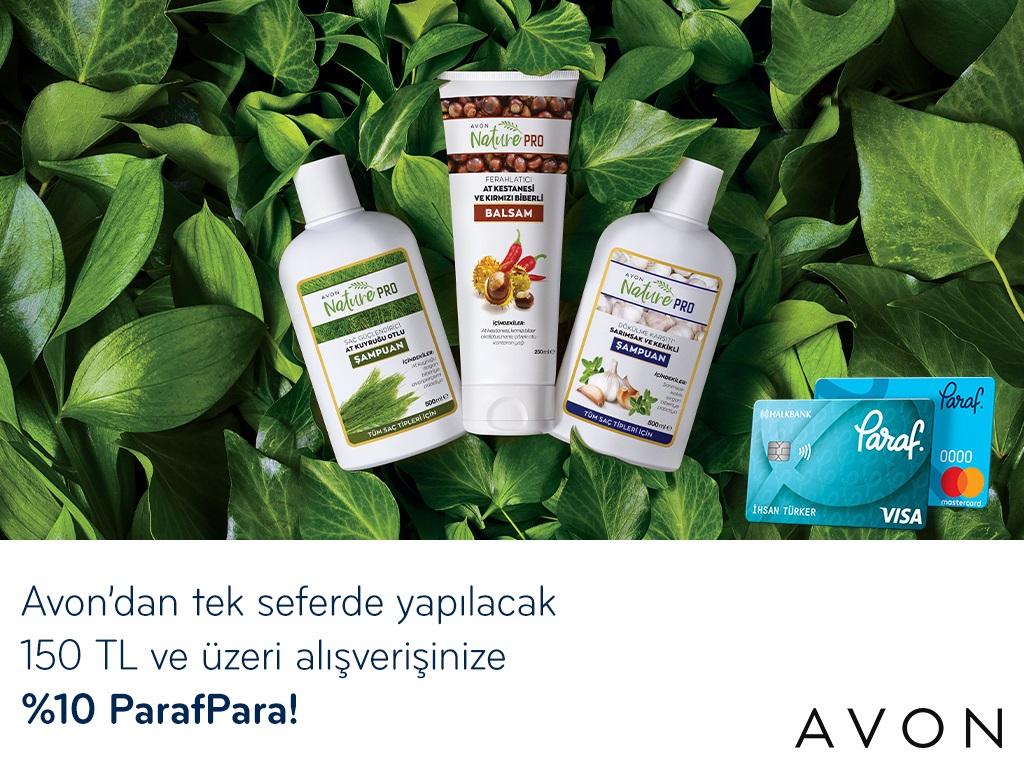 Paraf ile Avon'da %10 ParafPara Fırsatı!