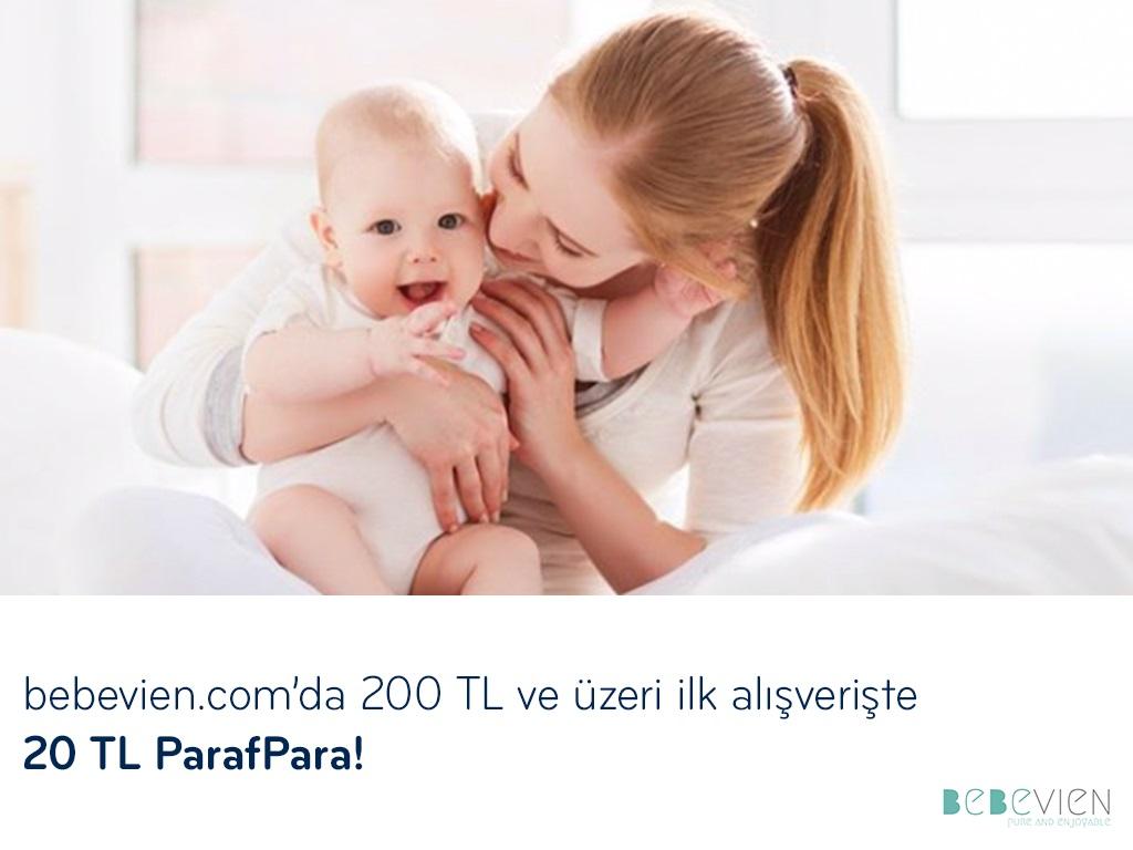 Paraf ile bebevien.com'da 20 TL ParafPara!