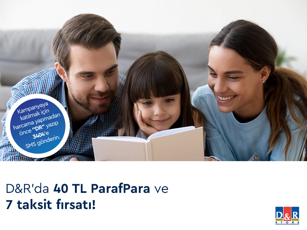 Paraf ile D&R'de 40 TL ParafPara hediye!