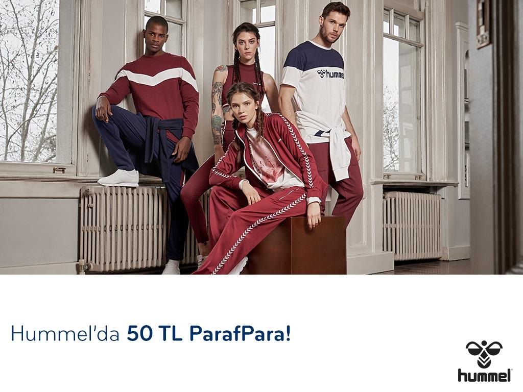 Paraf ile Hummel'da 50 TL ParafPara!