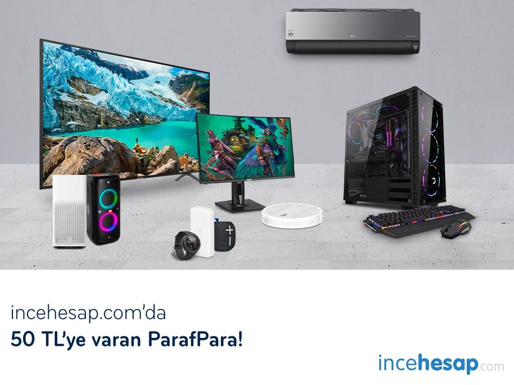 Paraf ile İncehesap.com'da 50TL'ye Varan ParafPara!