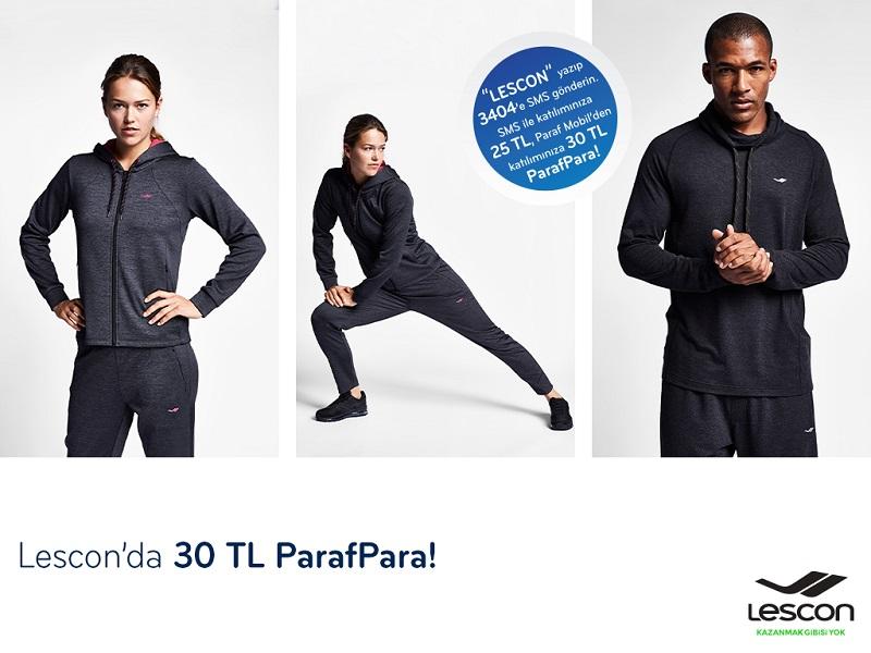 Paraf ile Lescon'da 30 TL ParafPara Fırsatı!
