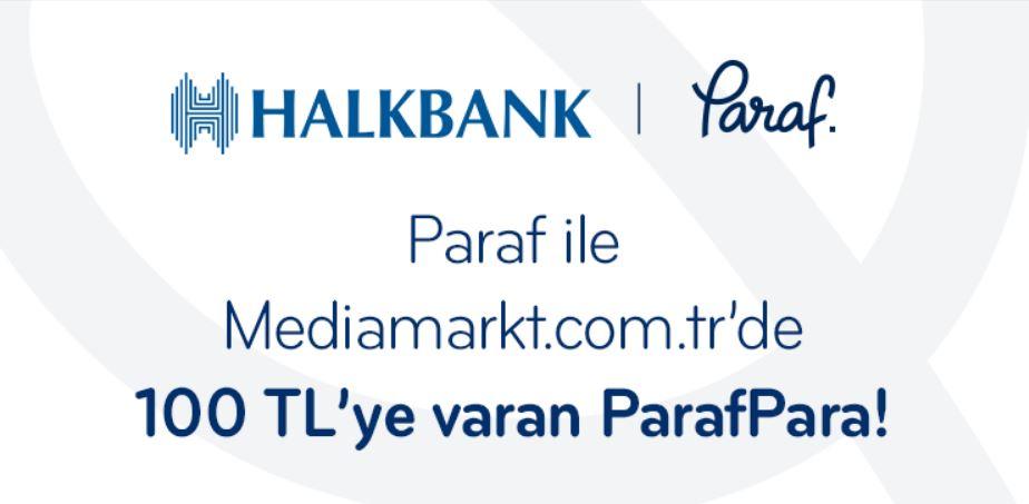 Paraf ile Mediamarkt.com.tr'de 100TL'ye Varan ParafPara!