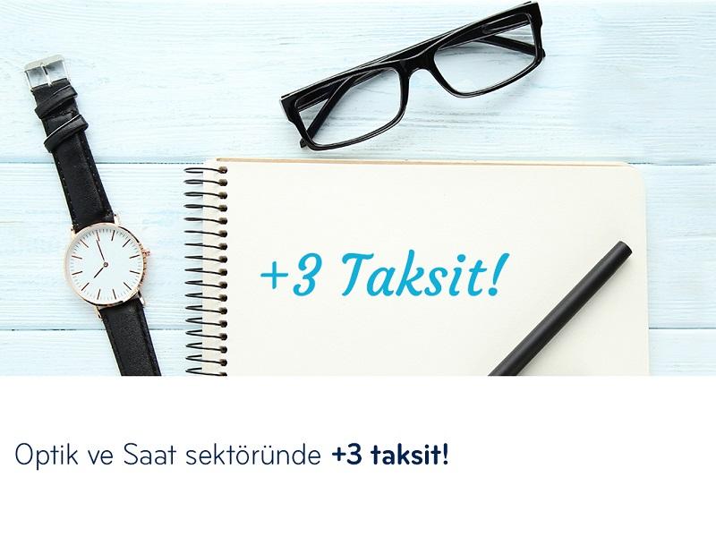 Paraf ile Optik ve Saat Sektöründe +3 Taksit!