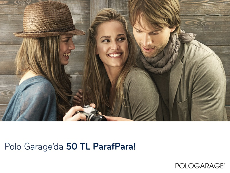 Paraf ile Polo Garage'da Sevgililer Gününe Özel 50 TL ParafPara!