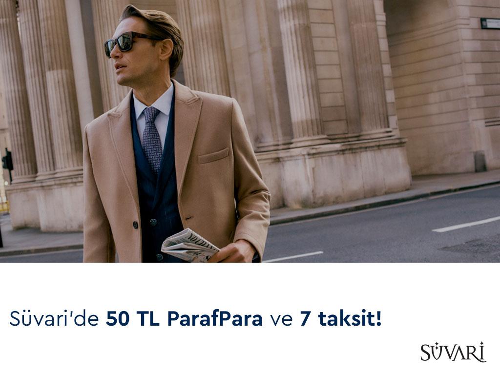 Paraf ile Süvari'de 50 TL ParafPara ve 7 taksit!
