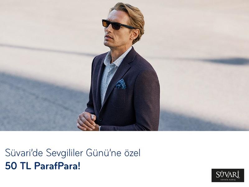 Paraf ile Süvari'de Sevgililer Gününe Özel 50 TL ParafPara!